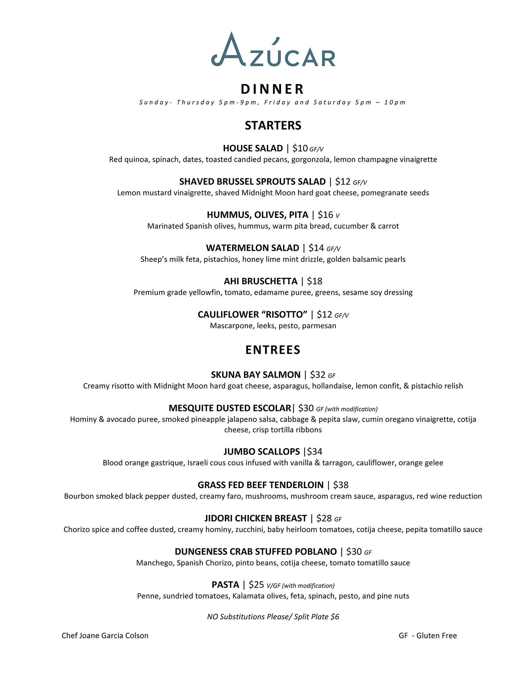 dinner-menu-june-2018